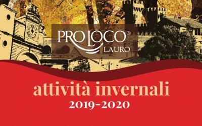 Attività invernali 2019-2020 Pro Loco Nuova Lauro